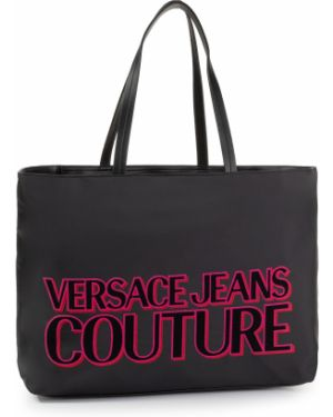Jeansy czarne Versace Jeans Couture