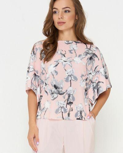 Блузка с длинным рукавом розовая Sellin