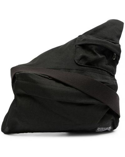 Czarna torebka z nylonu Julius