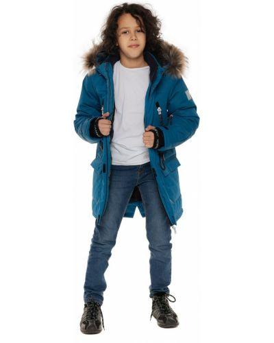 Бирюзовое пальто мембранное Stella's Kids