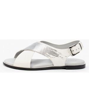 Белые кожаные сандалии Pazolini