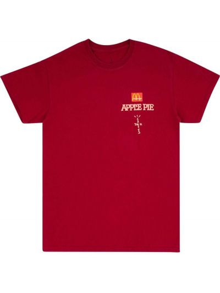T-shirt bawełniany krótki rękaw z printem Travis Scott Astroworld