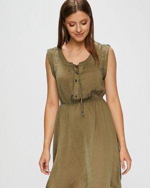 Sukienka mini rozkloszowana materiałowa Fresh Made