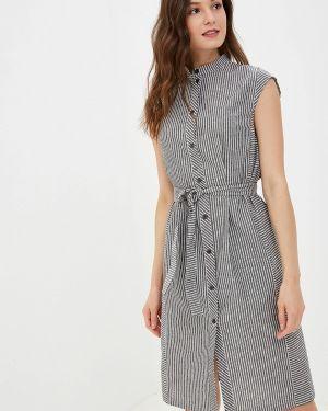 Платье серое прямое Kristina Kapitanaki