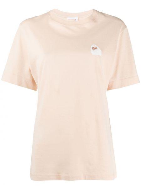 Футбольная футболка с вышивкой Chloé