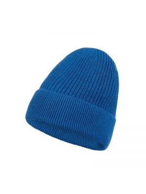 Niebieski bawełna bawełna czapka baseballowa z mankietami Mcneal