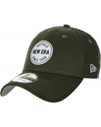 Зеленая бейсболка с логотипом New Era