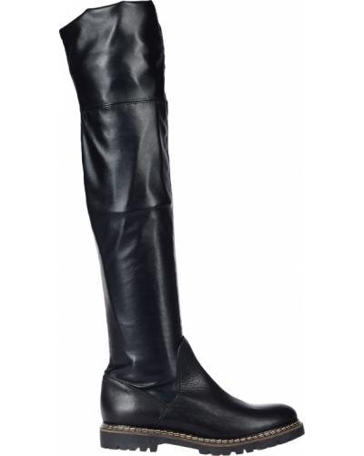 Ботфорты на каблуке кожаные Griff Italia