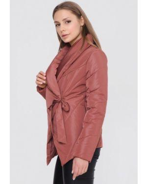 Розовая утепленная куртка Sfn