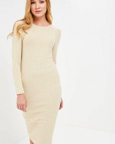 Платье весеннее бежевое Selected Femme