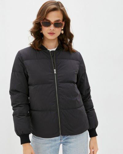Черная зимняя куртка Selected Femme