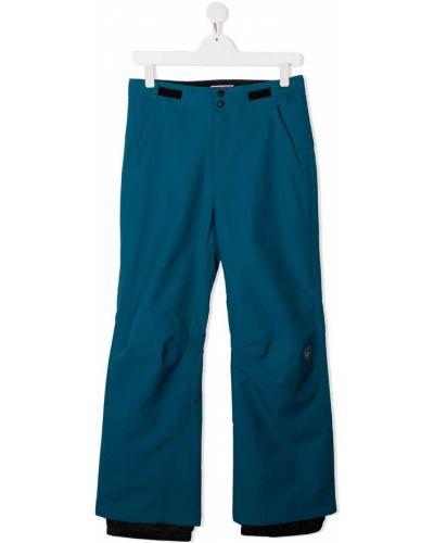 Брючные синие свободные брюки свободного кроя с поясом Rossignol Kids