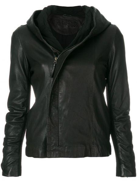 Черная кожаная куртка Munderingskompagniet