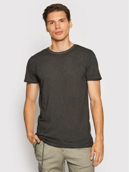 Szara t-shirt vintage Tigha