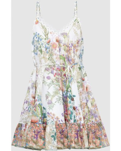 Белое платье мини Charo Ruiz