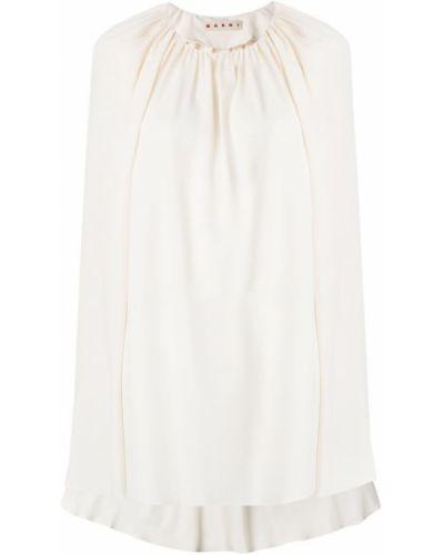 Белая блузка Marni