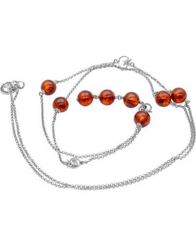 Серебряное ожерелье со вставками Darvin