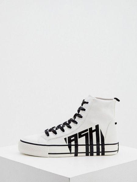 Высокие кроссовки белый Ash