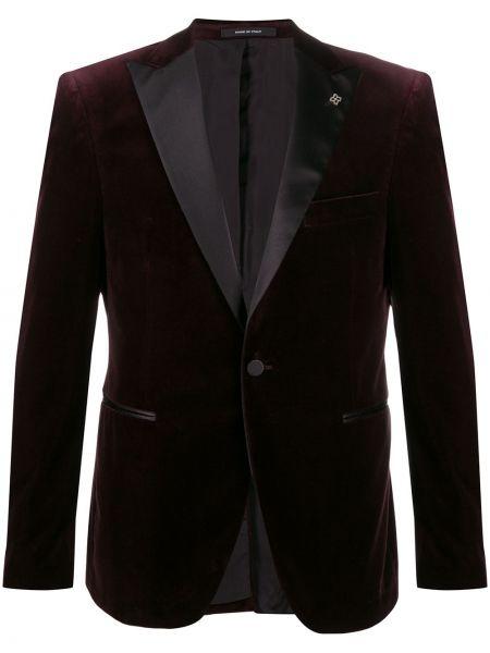 Фиолетовый прямой пиджак Tagliatore