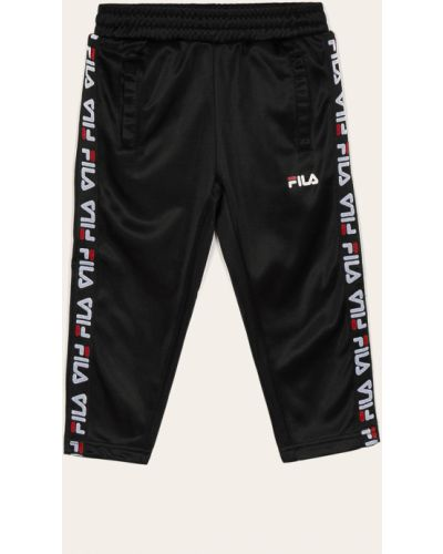 Spodnie czarny z kieszeniami Fila