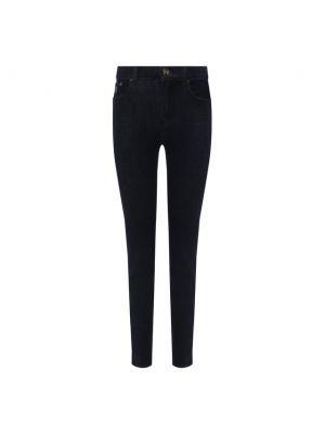 Хлопковые джинсы - синие Moorer