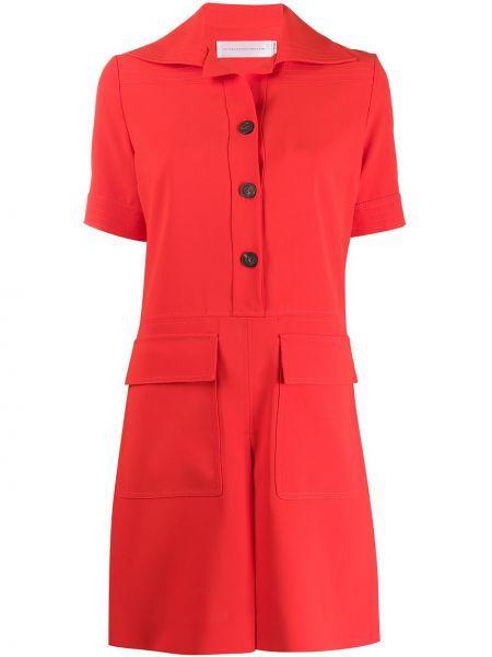 Платье мини на пуговицах платье-рубашка Victoria, Victoria Beckham