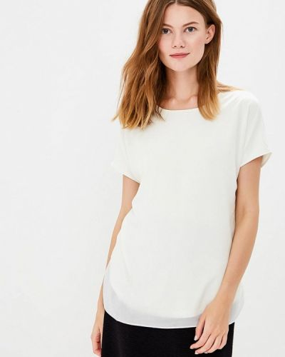 Белая блузка с коротким рукавом Gerry Weber