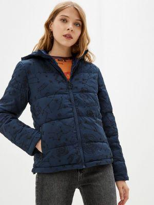 Утепленная куртка - синяя Desigual