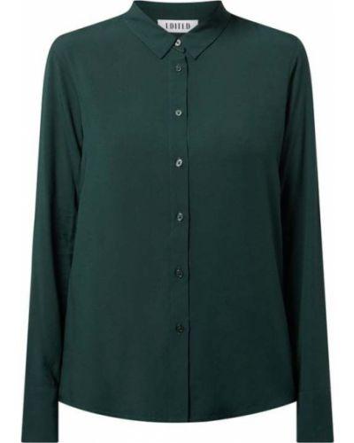 Zielona bluzka z wiskozy Edited