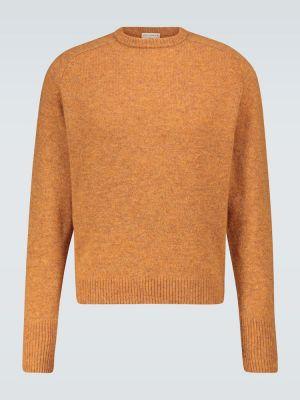 С рукавами оранжевый шерстяной свитер ã‰ditions M.r