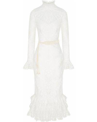 Платье миди с поясом на молнии Zimmermann