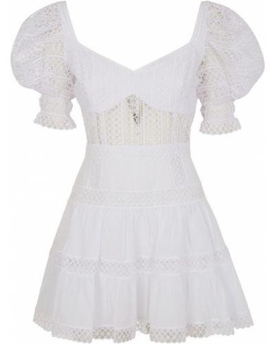 Biała sukienka mini Charo Ruiz Ibiza