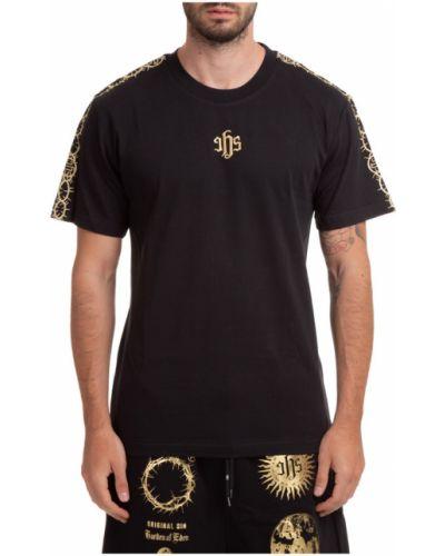 Czarna t-shirt Ihs