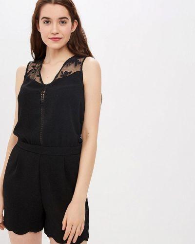 Комбинезон с шортами черный Naf Naf