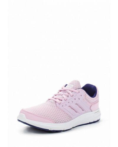 Розовые кроссовки Adidas
