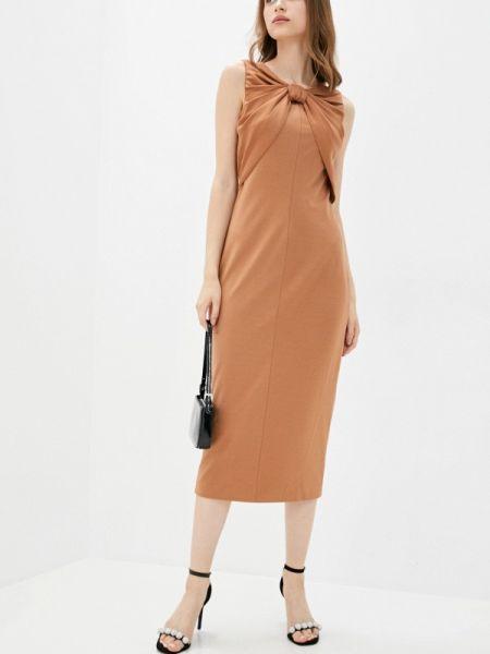 Коричневое платье Cavo