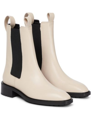 "Белые кожаные ботинки Aeydä"""