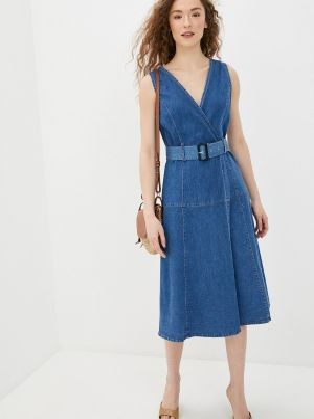Джинсовое платье синее весеннее You&you