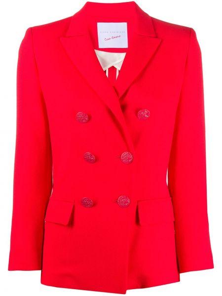Куртка с карманами красная Giada Benincasa