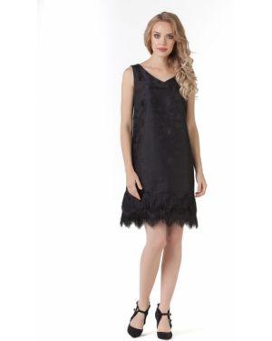 Вечернее платье с бахромой с V-образным вырезом Zip-art
