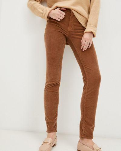 Коричневые брюки осенние Trussardi