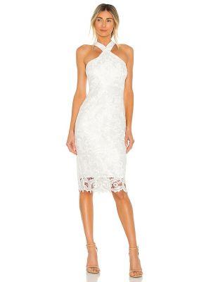 Кружевное белое платье на молнии Likely