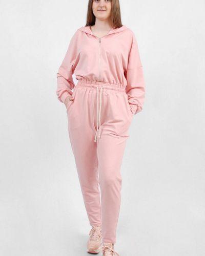 Комбинезон спортивный розовый Sab