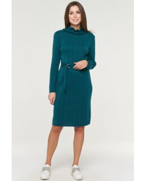 Платье миди платье-сарафан шерстяное Vay