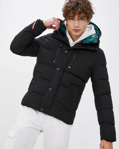 Черная утепленная куртка Terance Kole