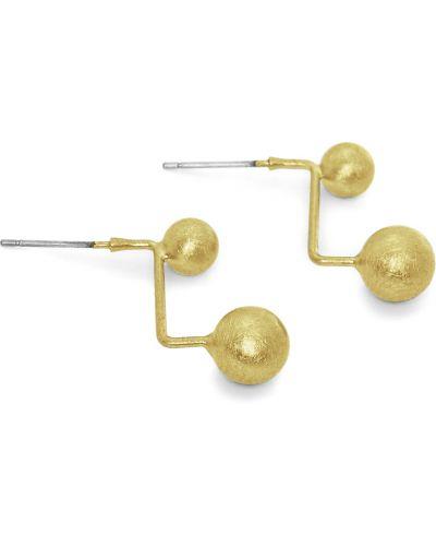 Золотые серьги золотой Honey