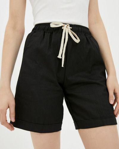 Повседневные черные шорты Izabella