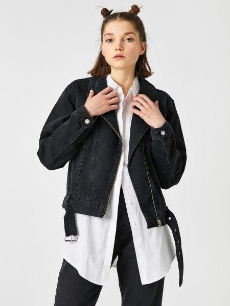 Джинсовая куртка - черная Koton