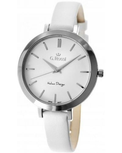 Zegarek na skórzanym pasku elegancki Gino Rossi