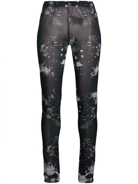 Черные брюки с поясом Barbara Bologna